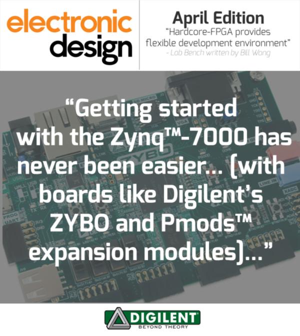 Zynq-7000 PMods, Digilent, Zybo, Xlinx