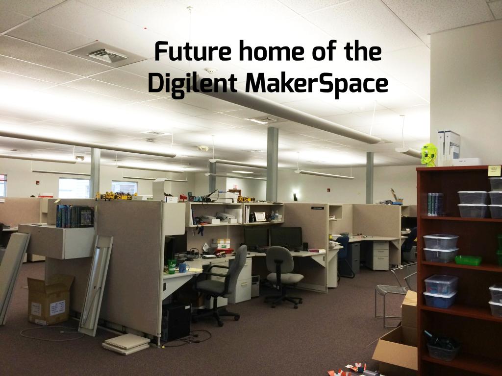 Digilent MakerSpace- Before