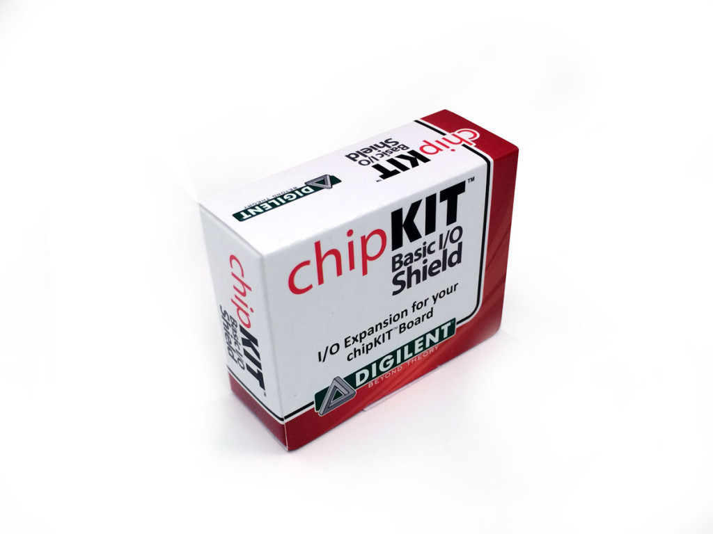 Add chipKIT, USB Cable, MPIDE to get started right away!