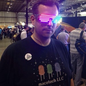 www.macetech.com uses WS2812 LEDs on shutter shades to do amazing patterns.