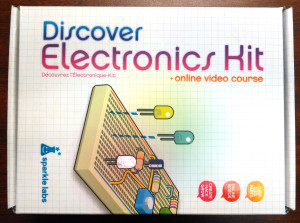 Discover Electronics Kit from Sparkle Labs
