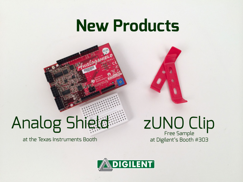 Digilent New Products at Maker Faire 2014