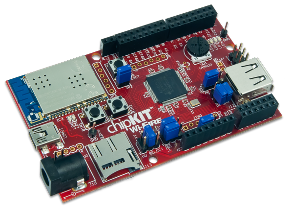 the chipKIT WiFire