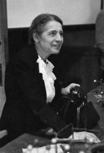 Lise Meitner, 1946.