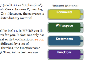 Learn additional material example