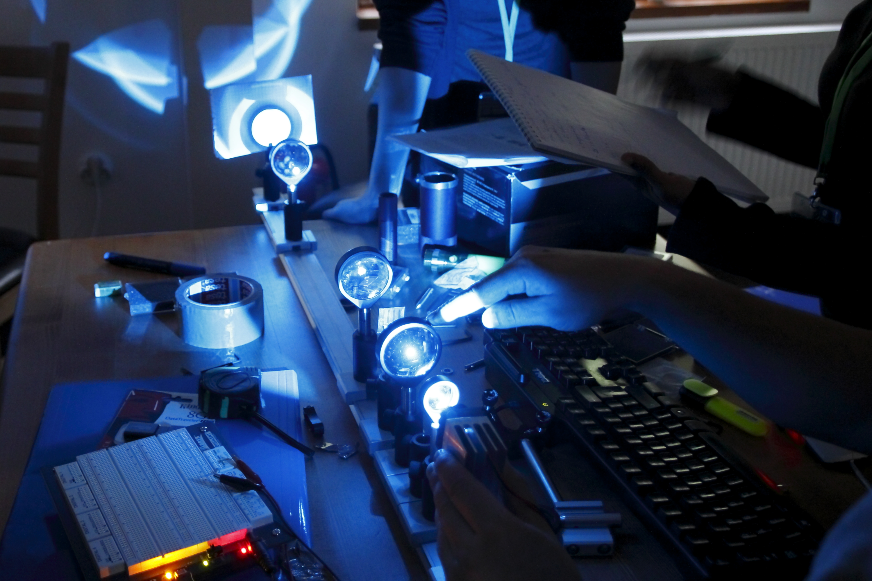 Building-a-benchtop-fluorescence-microscope