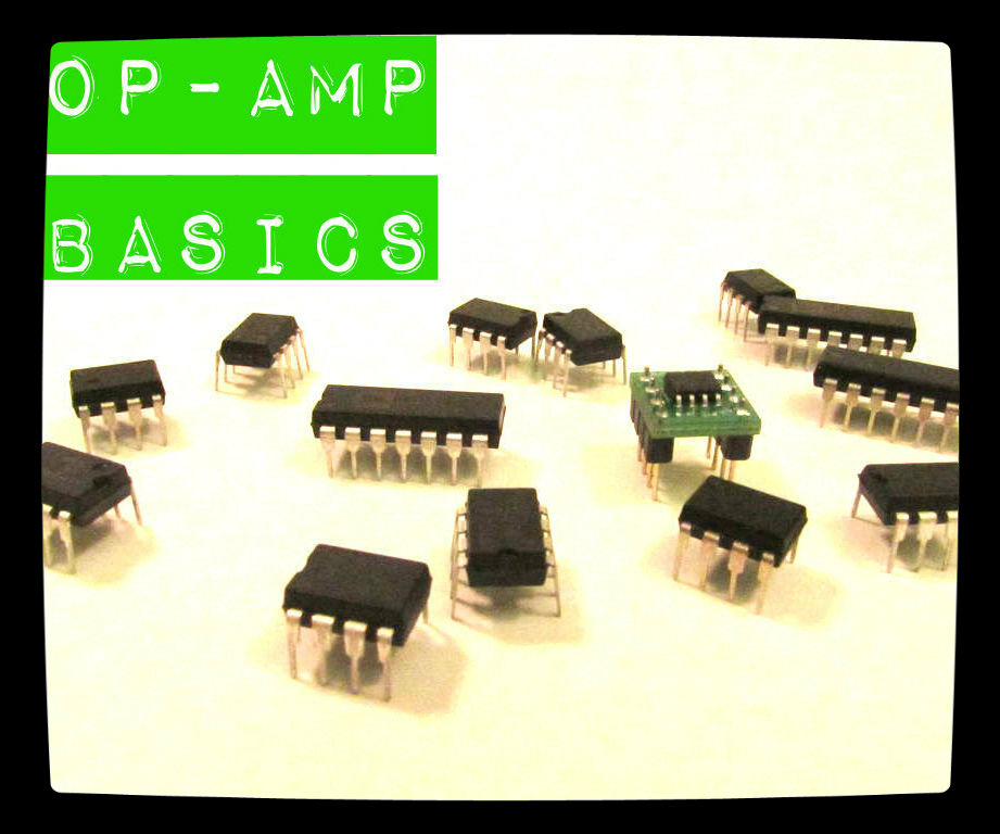 A small sample of different op-amp packages.