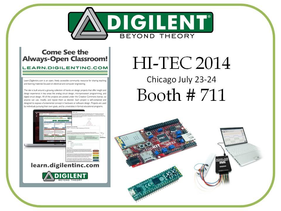 Digilent in HI-TEC Conference 2014