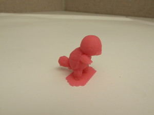 3D printed Squirtle