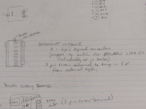 Gene's original notes on the first Pmod