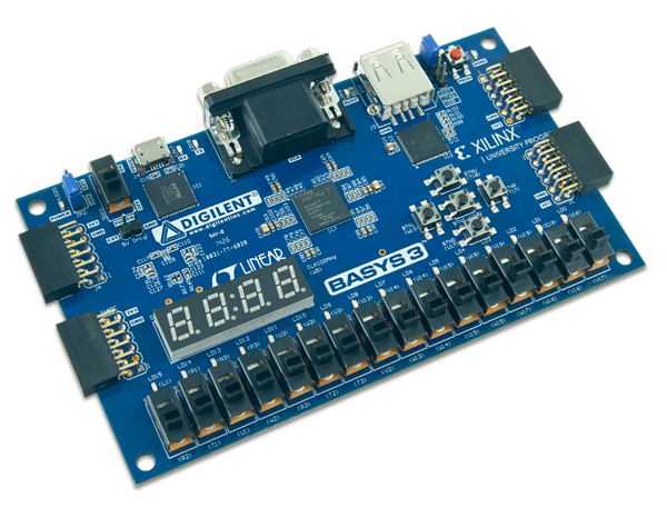 We've written pretty extensively about the Basys3, and we're happy with the newest addition to our FPGA family.