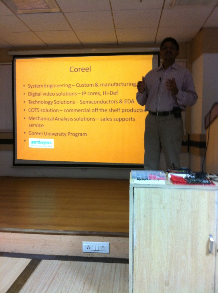 Head of Engineering at the CoreEL academic program introduces their mission and services