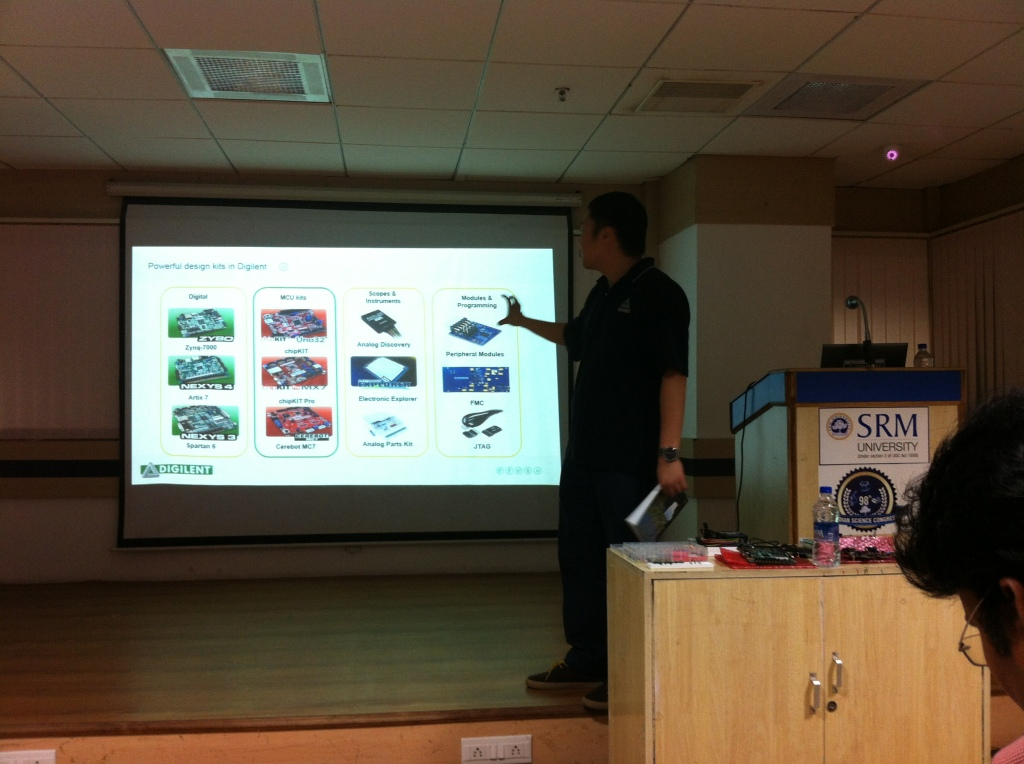 Alex introduces Digilent teaching kits line up - FPGA, chipKIT, Pmod and Analog Discovery