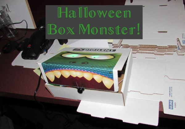 http://www.instructables.com/id/Halloween-Box-Monster/