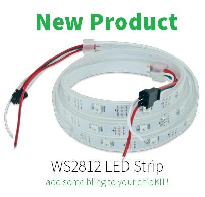 New Product — WS2812B LED Strip – Digilent Inc  Blog