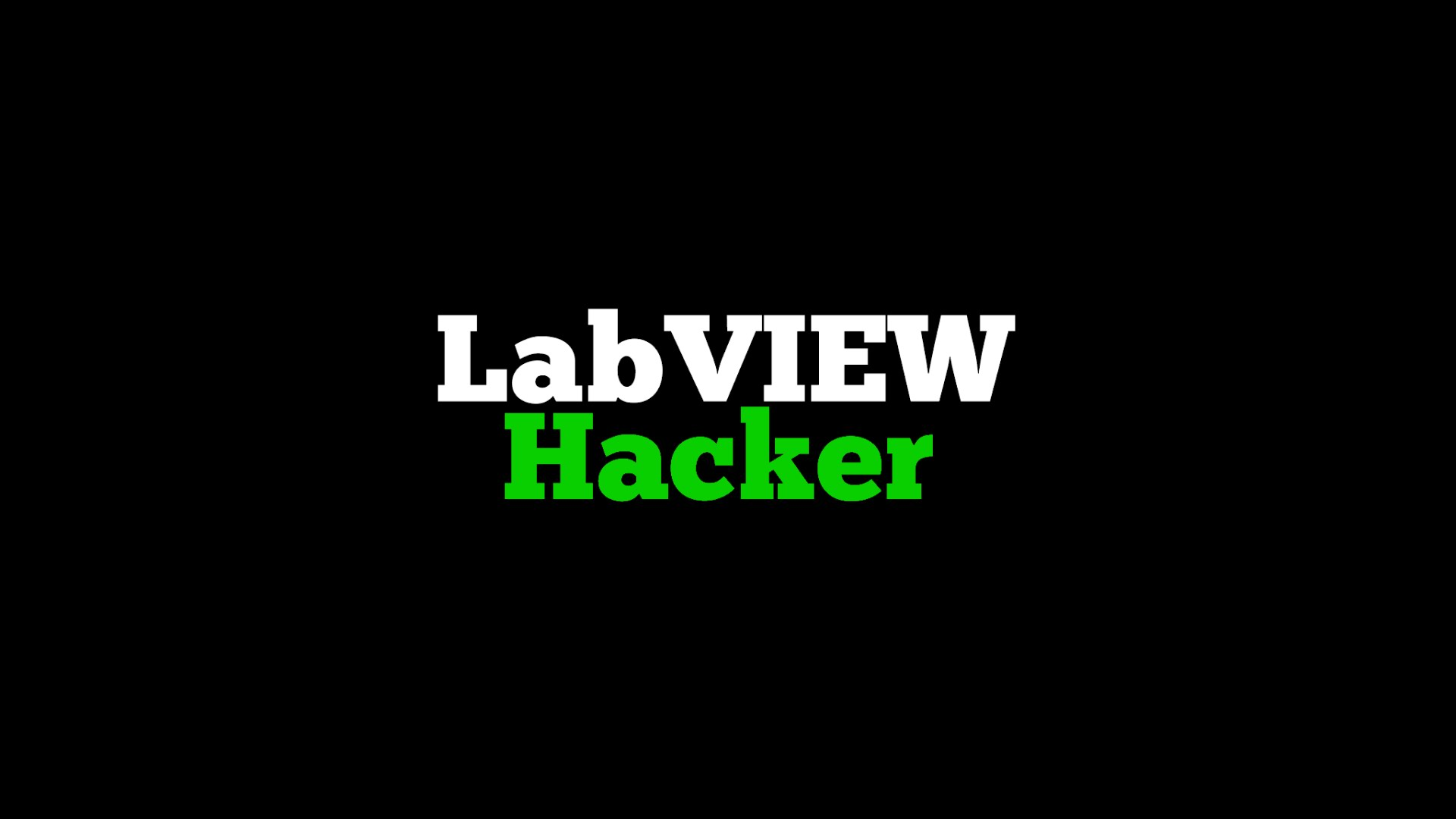 LabVIEW Hacker Session Tomorrow! – Digilent Inc  Blog