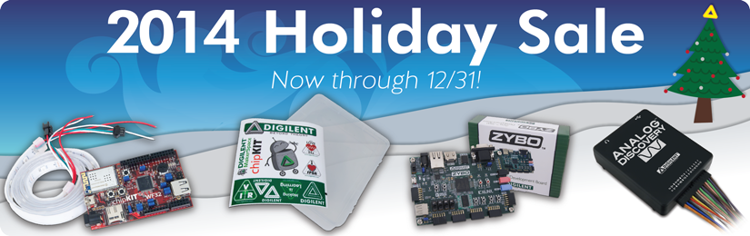 SALE — Just in Time for the Holidays! – Digilent Inc  Blog
