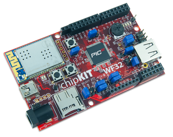 The chipKIT WF32!