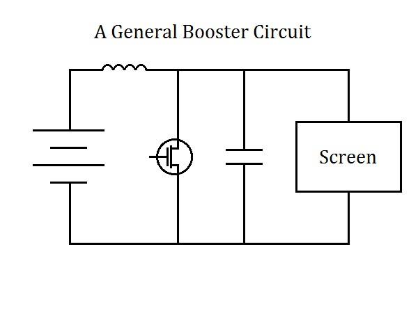A general booster circuit diagram.