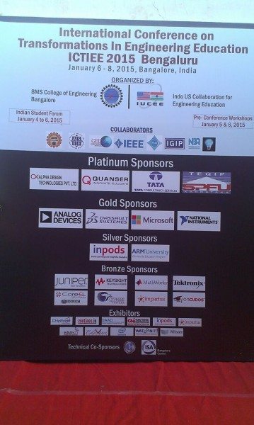 Digilent & CoreEL is the bronze sponsor in IUCEE 2015