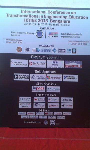 Digilent & CoreEL is the bronze sponsor in IUCEE 2015