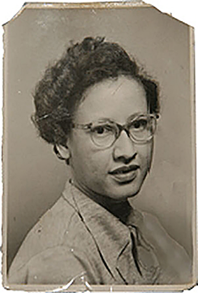 A young Katherine Johnson. Source: Katherine Johnson via NASA