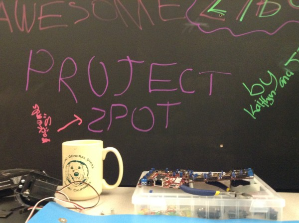 """My workspace: the """"Awesome Project 'z'pot"""""""