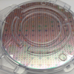 Silicon wafer.