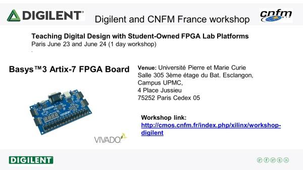 Digilent CNFM workshop