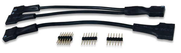 The Pmod Cable Kit, 12-pin.