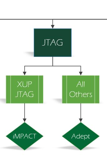 The JTAG options