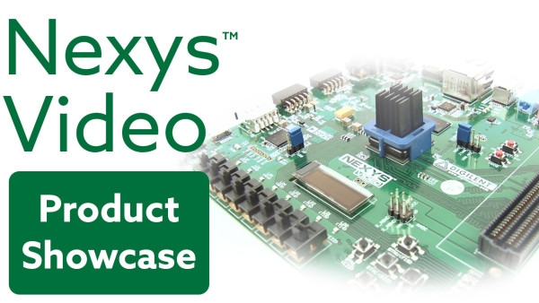 Check out the new Nexys Video introduction video on YouTube!