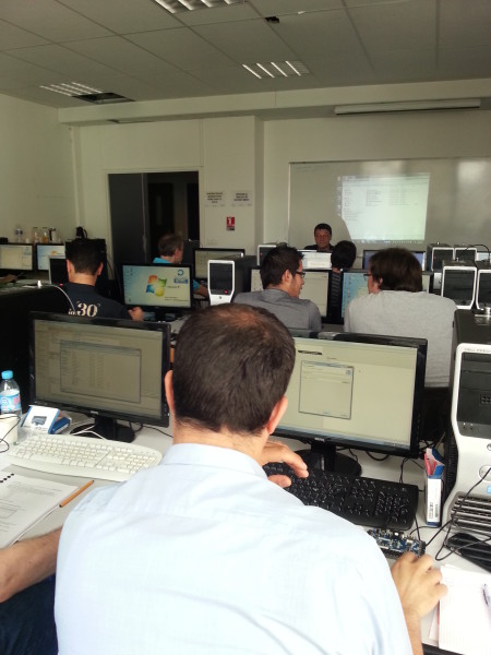 Lab sessions held by Mircea Dabacan