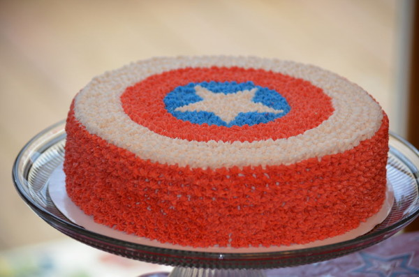 Though there are plenty of options for foods in red, white, and blue, we like this very patriotic choice -- the Independence Day Surprise Cake. Project on Instructables.