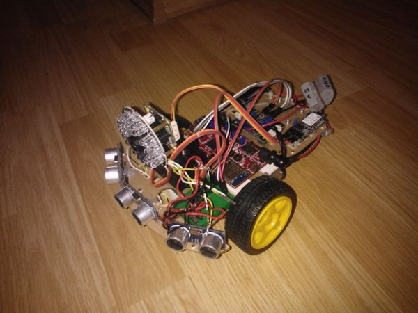 The complete Spy Rover.