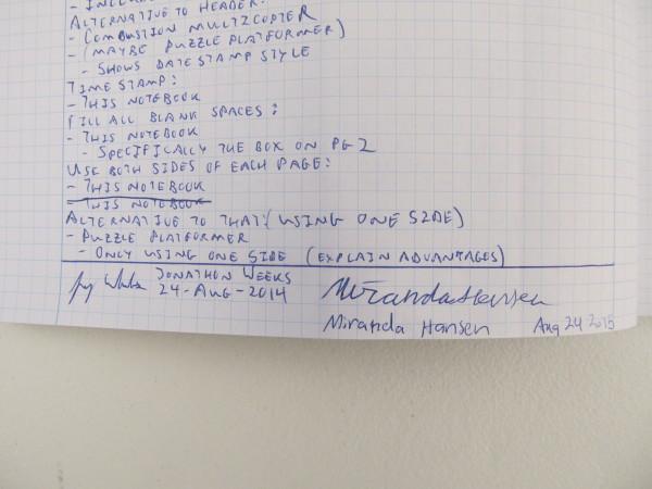 Signature Example 1