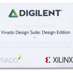 The envelope that the $10 version of Vivado Design edition comes in.