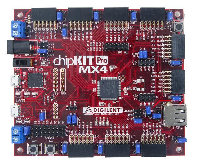 Digilent's chipKIT Pro MX4