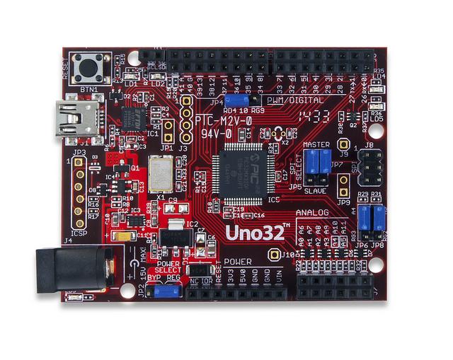 Digilent's chipKIT Uno32