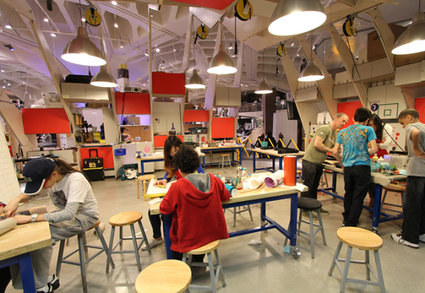 New York Hall of Science MakerSpace.