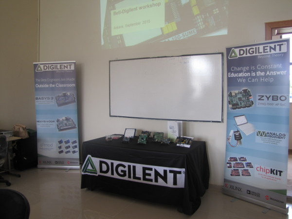 Digilent set-up