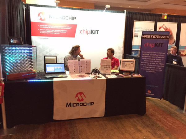 masters2015 chipKIT booth