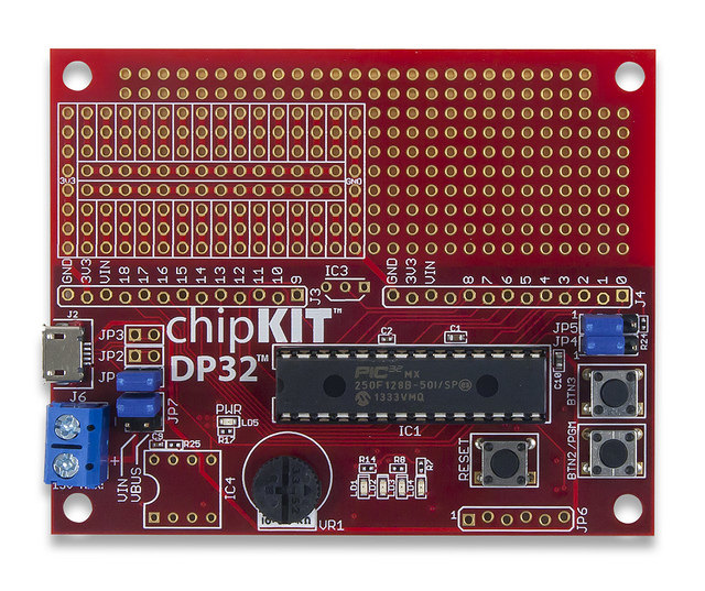 The chipKIT DP32.