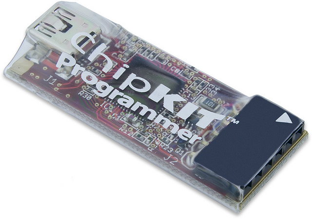 The chipKIT programmer makes chipKIT products compatible with MPLAB.