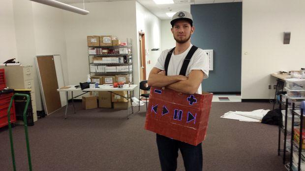 Human jukebox costume