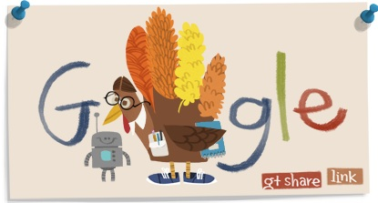 Blog turkey hand and robot from Google