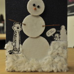 Make your own dancing snowman buddy!