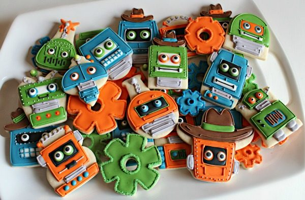 blog - robot cookies