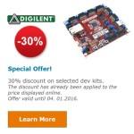 PIC 32 Microcontroller board Sales Farnell