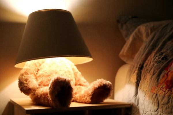 diy-xmas-teddybearlamp